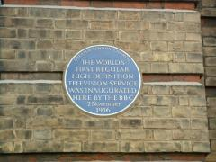 Periwinkle Blue plaque