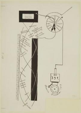 DADA Picabia drawing Dada Movement 1919
