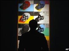 warhol skulls sale