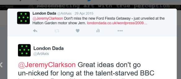 Clarkson tweet