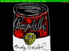 warhol digital soup can