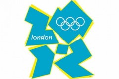 Olympic logo blue