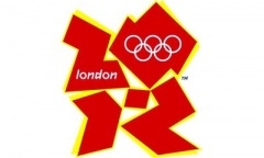 Olympic logo indian red