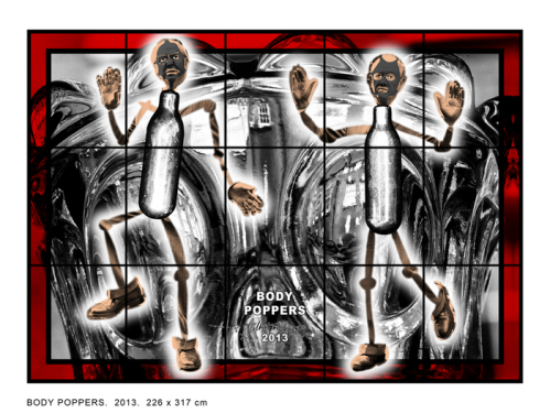 Gilbert and George body poppers