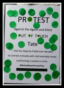 TURNER protest spots leaflet