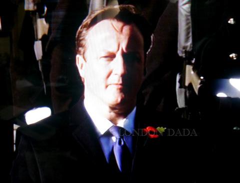 Cameron @ Cenotaph 11.11. 2012