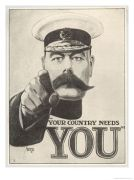 Kitchener Country-Needs-You-Featuring-Lord-Kitchener-Posters