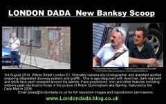 BANKSY CORNERED