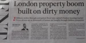 Londond dirty money