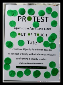 Tate Protest